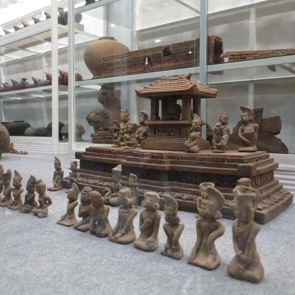 Figurin Mojopahit Temporary Museum