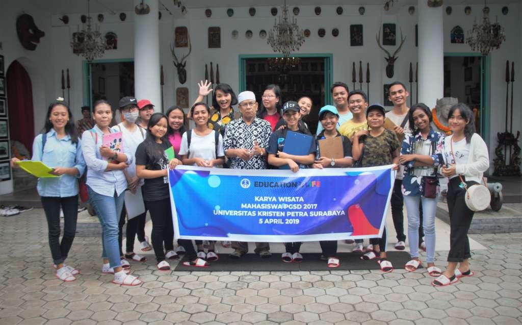 Kunjungan Univ Kristen Petra Surabaya