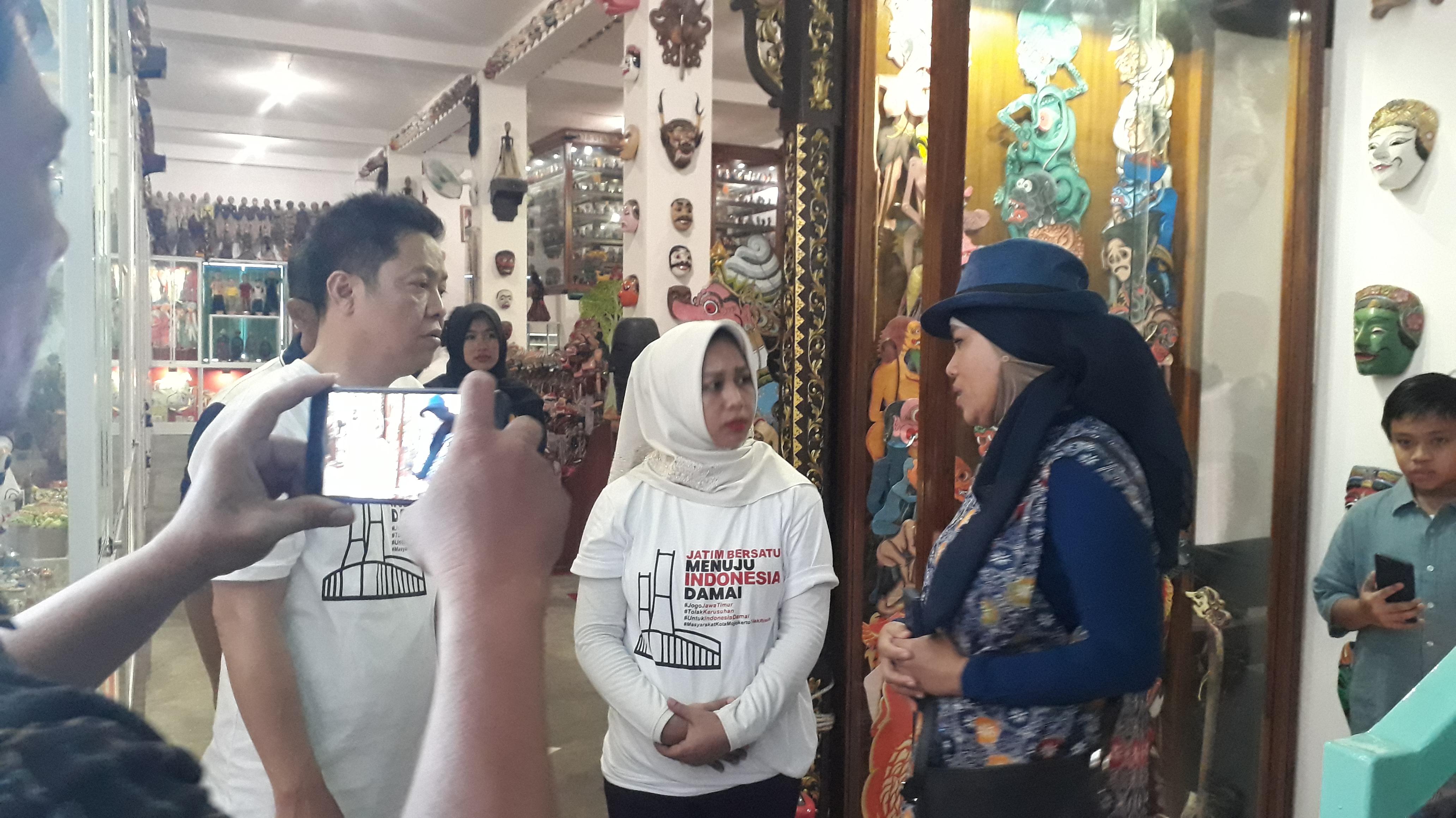 Kunjungan Walikota Mojokerto