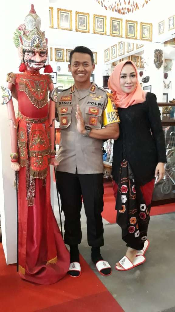 Kunjungan Bapak Sigit Kapolres Kota Mojokerto