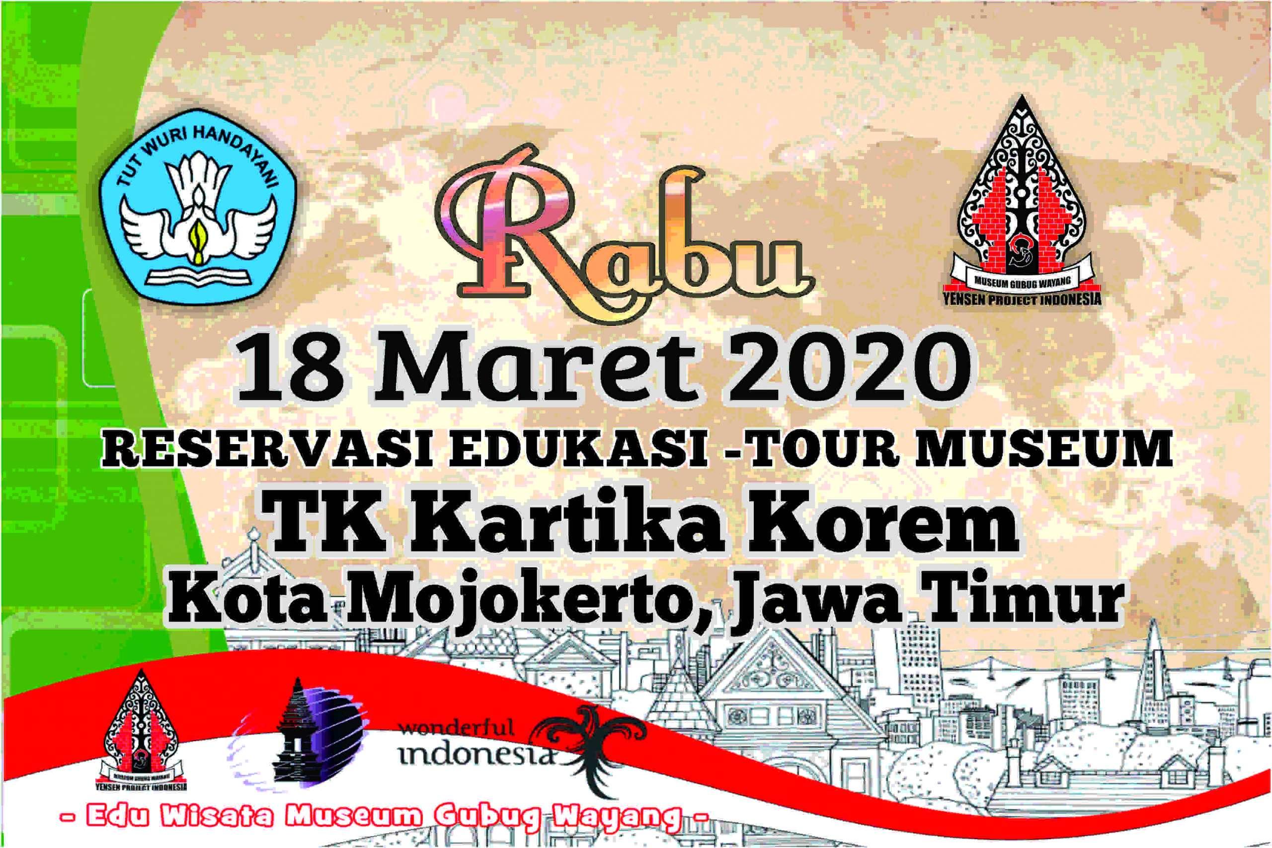 Reservasi Kunjungan TK Kartika Korem Mojokerto
